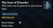 War boar of Drunder