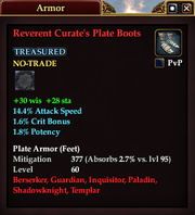 Reverent Curate's Plate Boots