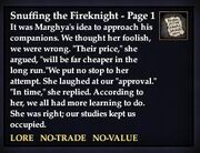 Snuffing the Fireknight - Page 1