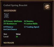 Coiled Spring Bracelet