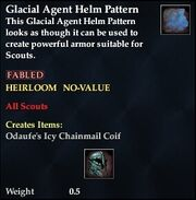 Glacial Agent Helm Pattern