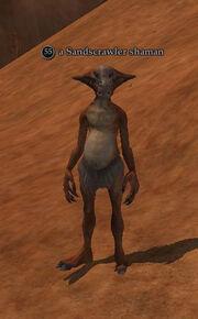 A Sandscrawler shaman