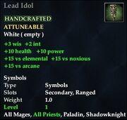 Lead Idol