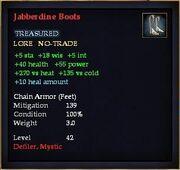 Jabberdine Boots