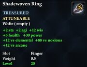 Shadewoven Ring