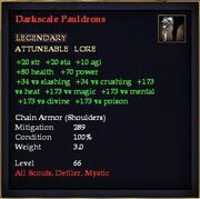 Darkscale Pauldrons