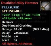 Deathfist Utility Hammer
