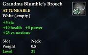 Grandma Blumble's Brooch