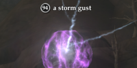 A storm gust