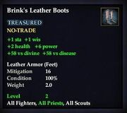 Brink's Leather Boots