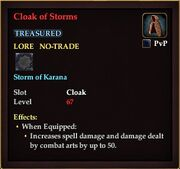 Cloak of Storms