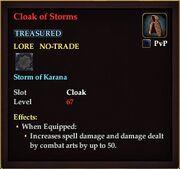 Cloak of Storms