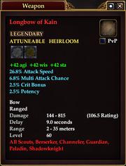 Longbow of Kain