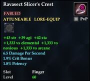 Ravasect Slicer's Crest
