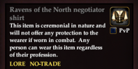 Ravens of the North negotiator shirt