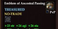 Emblem of Ancestral Passing