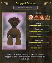 Moppet Master arena stats