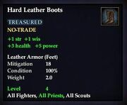 Hard Leather Boots