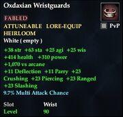 Oxdaxian Wristguards