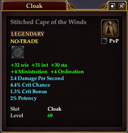 Stitched Cape of the Winds