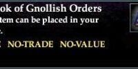 A Book of Gnollish Orders