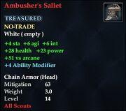 Ambusher's Sallet