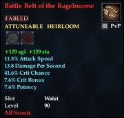 Battle Belt of the Ragebourne