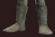 Grey Boots of the Far Seas Traders (Equipped)
