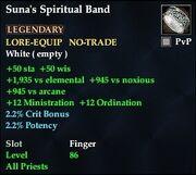 Suna's Spiritual Band