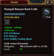 Tranquil Banyan Root Cuffs