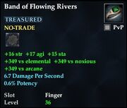 Band of Flowing Rivers