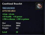 Gearblood Bracelet
