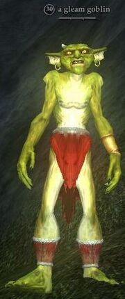 A gleam goblin (Ruins of Varsoon)