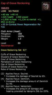 Cap of Grave Reckoning