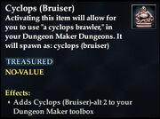 Cyclops (Bruiser)