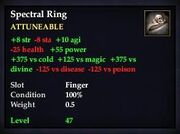 Spectral Ring