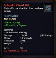 Splendid Ghoul Fist