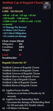 Voidlink Cap of Roguish Charm