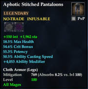 Aphotic Stitched Pantaloons