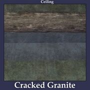 Ceiling Cracked Granite