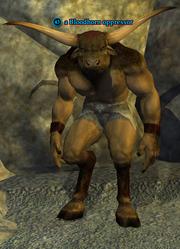 A Bloodhorn oppressor (Steamfont Mountains)