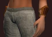 Elysian Wristguard of the Darkblade (Equipped)