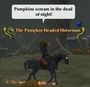 The Pumpkin Headed Horseman