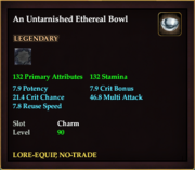 An Untarnished Ethereal Bowl
