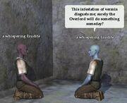 A whispering Erudite