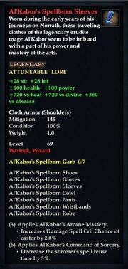 Al'Kabor's Spellborn Sleeves