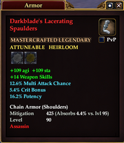 Darkblade's Lacerating Spaulders