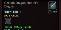 Growth Dragon Hunter's Dagger