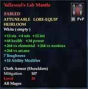 Yallessul's Lab Mantle