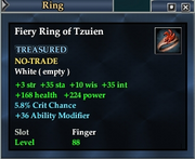 Fiery Ring of Tzuien